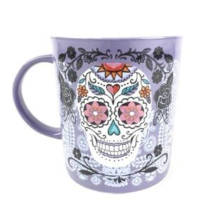 Sugar Skull Mug Dia de Los Muertos Day of the Dead